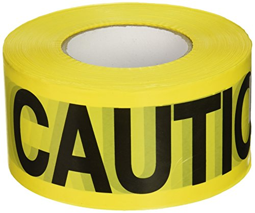 Caution Barricade Safety Tape - CH Hanson 1000 ft. Caution Caution Barricade Tape 2 mil
