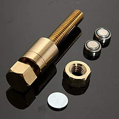 Gazelle Trading Nut Off Bolt Magic Tricks Prop Autorotation Rotating Screw Magic Props Close Up Micro Psychic Super Ultimate Rotating Magic Toys for Kids and Adults: Toys & Games