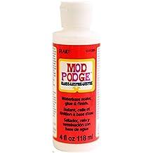 Mod Podge XTL-1041 Waterbase Sealer, Glue and Finish (4-Ounce), CS11205 Gloss Finish