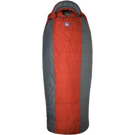 Big Agnes Whiskey Park 0-Degree Sleeping Bags (Quallofil), Long Left Zipper, Outdoor Stuffs