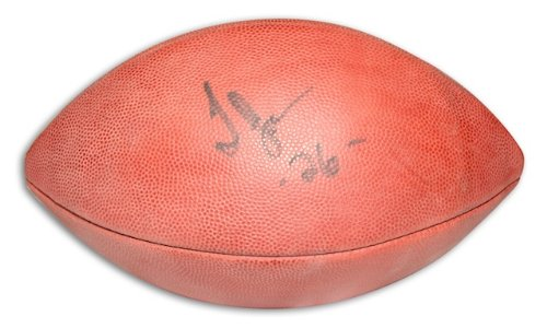 Jones Thomas Football Nfl (Autographed Thomas Jones NFL Football)
