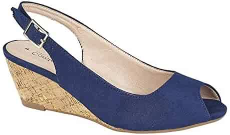 5a588de341 Shopping Blue - Platforms & Wedges - Sandals - Shoes - Women ...