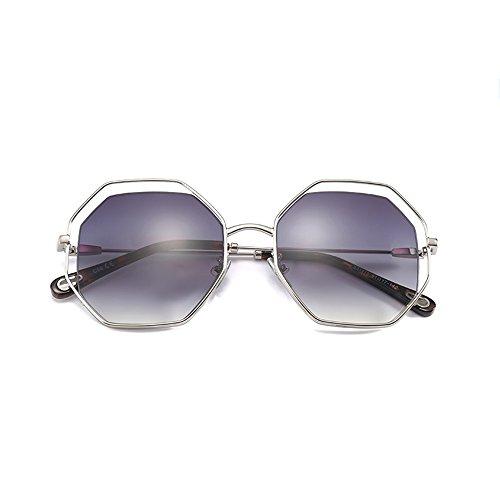de grande ZHIRONG de gafas marco conducción solar personalidades sol viajes de libre la al Gafas B protección moda contra aire Gafas polarizadas de A Color UV z1qrRPwz