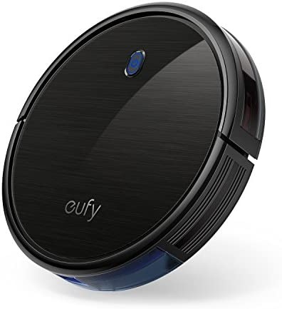eufy via Anker, BoostIQ RoboVac 11S (Slim), Robot Vacuum Cleaner, Super-Thin, 1300Pa Strong Suction, Quiet, Self-Charging Robotic Vacuum Cleaner, Cleans Hard Floors to Medium-Pile Carpets