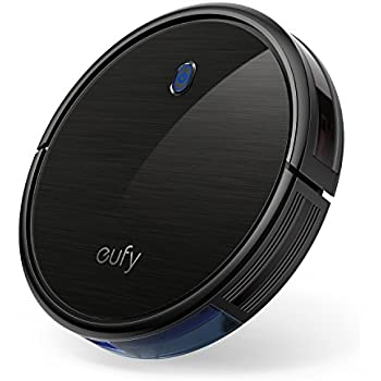 eufy Boost IQ RoboVac 11S (Slim), 1300Pa Strong Suction, Super Quiet, Self-Charging Robotic Vacuum Cleaner, Cleans Hard Floors to Medium-Pile Carpets (Black)