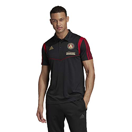 adidas Atlanta United FC Men's Performance Polo Shirt (X-Large)