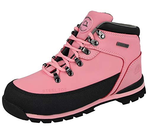 5fb2625f835 Groundwork Ladies Work Boots, Ladies Steel Toe Caps, Lace UP With ...