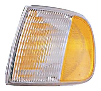 Park Light Lens (Eagle Eyes FR207-U100R Ford Passenger Side Park/Side Lamp Lens and Housing)