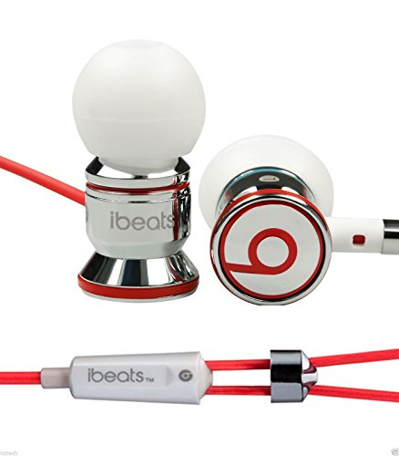 Beats-By-Dr-Dre-Monster-iBeats-In-Ear-Earphones-White-Model-Electronics-Accessories-Store