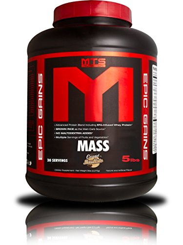 MTS Nutrition Epic Gains (Caramel Macchiato, 5 Pounds)
