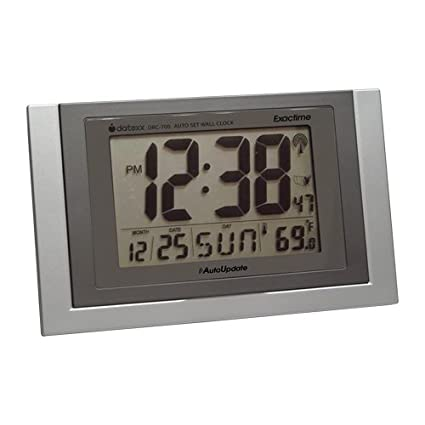 Amazoncom Datexx Radio Control Wall Clock with Date and
