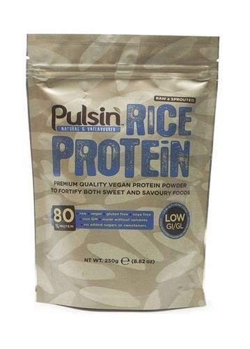 (4 PACK) - Pulsin - Brown Rice Protein Powder PSN-TBD | 250g | 4 PACK BUNDLE by Pulsin'