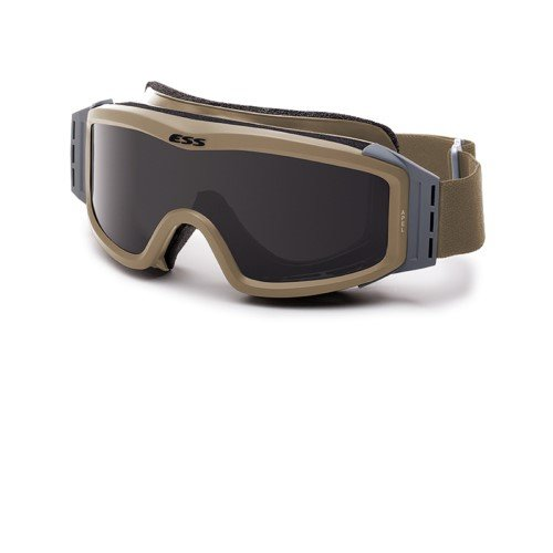ESS Eyewear Profile Night Vision Compatible Goggles, Terrain Tan by ESS Eyewear