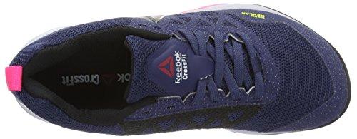 Reebok Crossfit Nano 6.0, Zapatillas Deportivas Para Interior Para Mujer Azul (blue Ink/lucid Lilac/poison Pink/black/pewter)
