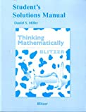 Student's Solutions Manual for Thinking Mathematically, 5th Edition