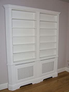 Katherine Radiator Cover Cabinet And Bookcase Made To Order
