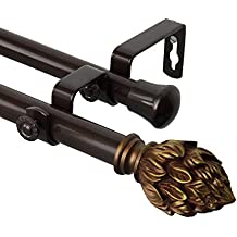Amazon Com Magnetic Curtain Rod Brackets