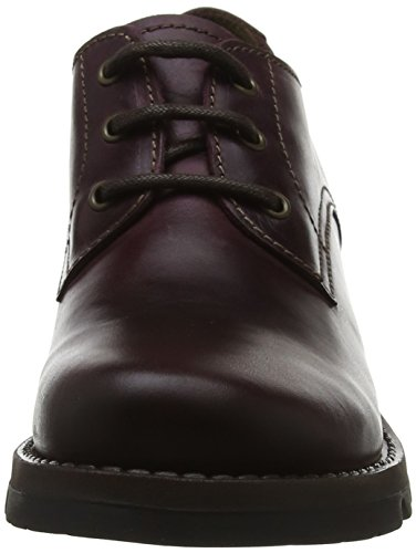 Morado Mujer Zapatos Brogue Fly Cordones Para Simb389fly De 003 purple London qwBxS68x0