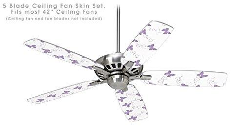 ceiling fan purple - 6