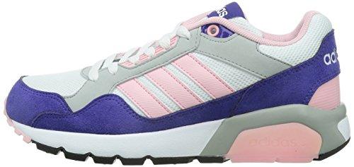 Adidas Mädchen run9tis trainers-black/weiß/purple/lime, Größe 3,5, Mädchen, Run9tis Purple/Pink/White/Grey