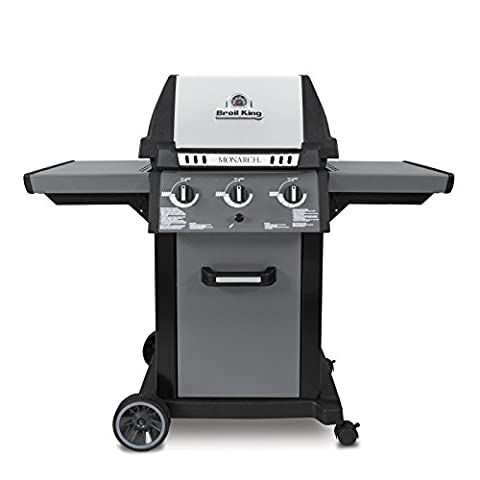 Broil King 931254 Monarch 320 Liquid Propane Gas Grill (Broil King Signet)