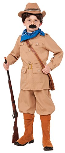 Faerynicethings Child Size Theodore Roosevelt Costume - Small 4-6 ()