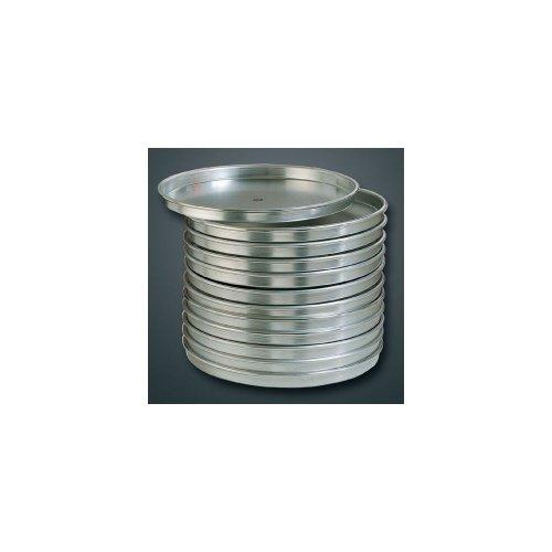 American Metalcraft ha4000-serie Pizza pannen, zilver (verschillende maten), 10.5″ B x 10.55″ L, zilver, 1