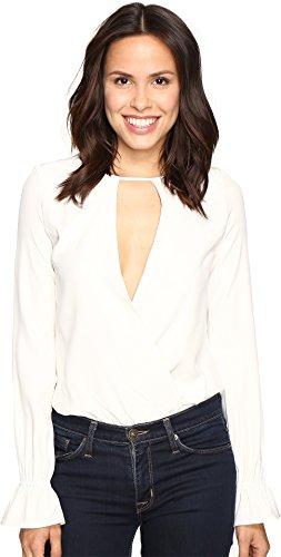 Stone Cold Fox Women's Tori Bodysuit White 1 (Wow Dresses Jumpsuits Clothes)