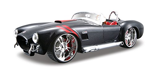 (Maisto 1:24 Scale All Star Shelby Cobra 427 Diecast Vehicle (Colors May Vary))