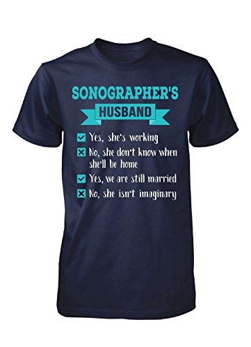 Sonographer's Husband Checklist. Awesome Gift - Unisex Tshirt