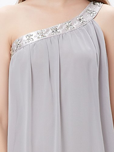 Ever Pretty Stunning Rhinestones One Shoulder Short Party Dress 03388