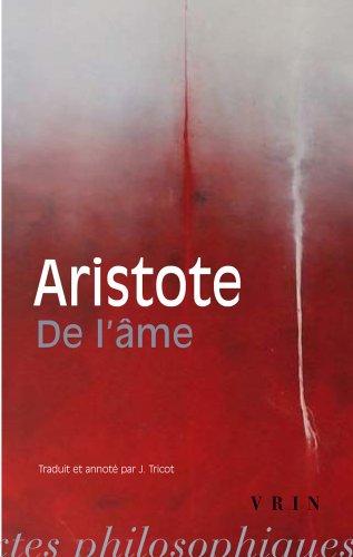 [Best] de L'Ame (Bibliotheque Des Textes Philosophiques - Poche) (French Edition) ZIP