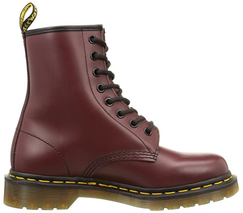 Cherry Adulto Rosso Last Patent 1460 59 Dr Unisex Martens Red Smooth Stivaletti 1460 axqP4X