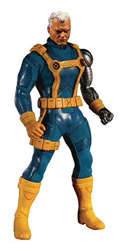 Mezco 76861 One: 12 Collective: Marvel Cable (X-Men Version) Action Figure, Multicolor from Mezco