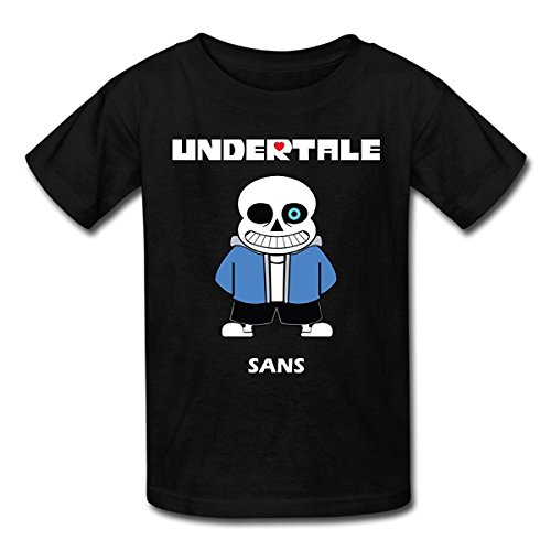 Price comparison product image WOOBE Teen Funny Undertale Sans T Shirts For Boys / Girls