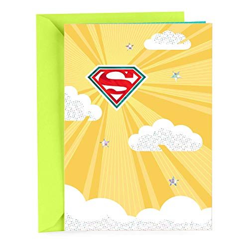 Hallmark Thank You Greeting Card (Superman)