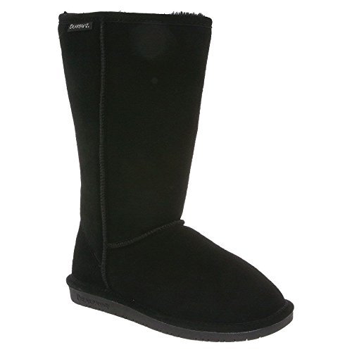 Leather & Shearling Tall Boot - 4