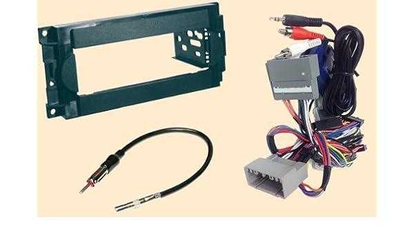 Amazon Radio Stereo Install Dash Kit Steering Control Wiring Rhamazon: 2007 Dodge Radio Stays On At Gmaili.net