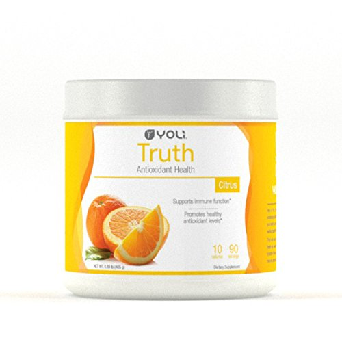 Yoli Truth - Delicious Drink Mix That Promotse Healthy Antioxidant Levels - Sugar Free (Canister - 90 Servings) by Yoli