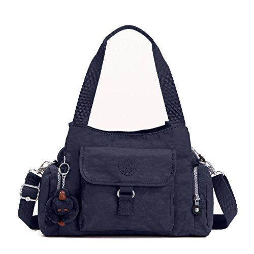 Kipling Luggage Fairfax Shoulder Bag with Removable Strap, True Blue, One - Fairfax Fair