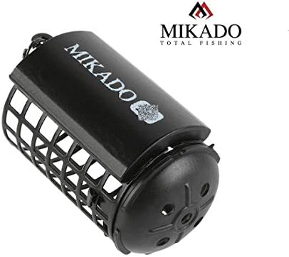"""Mikado"""" Futterkorb schwarz Ø32 x 44mm von 30g bis 80g erhältlich Feeder with Bottom"""