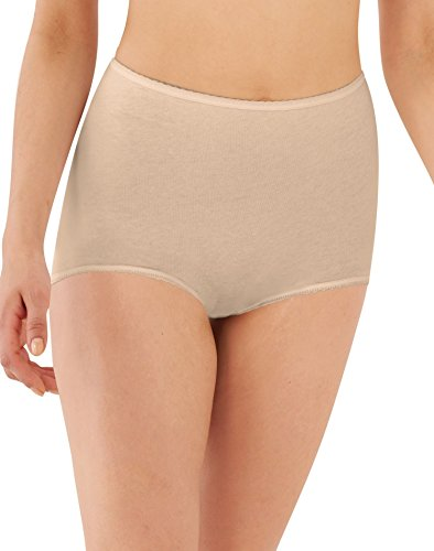 Bali Women's Cool Cotton Skamp, Mocha Mist, Medium/6