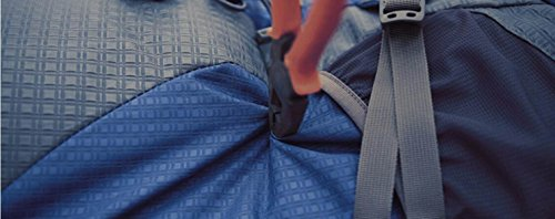 LQABW De Hombro 70L Al Aire Libre Mujer Recorrido Que Acampa Impermeable De Los Deportes De Nylon Durable Mochila De Senderismo,Green Yellow