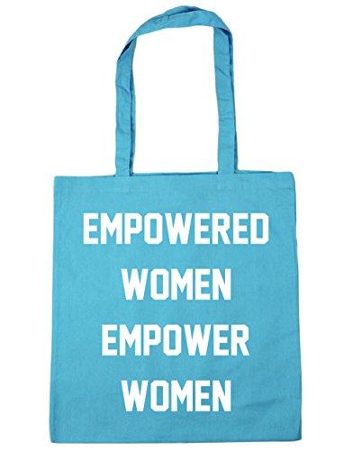 Blue Bag Gym HippoWarehouse litres Surf 10 Beach women x38cm Tote 42cm Empowered empower women Shopping 7w6q8Yw1
