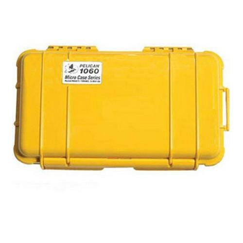Pelican 1060-025-240 Micro Case Solid Yellow 9.38 x 5.56 x 2.63 by Pelican