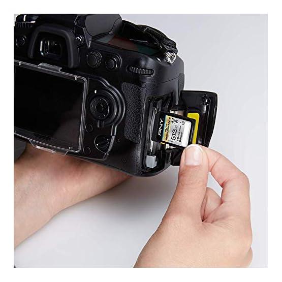 PNY 512GB Elite Performance Class 10 U3 SDXC Flash Memory Card 41Gh