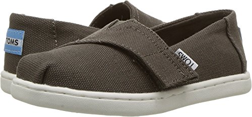 Olive Canvas Footwear - TOMS Kids Baby Boy's Alpargata (Infant/Toddler/Little Kid) Tarmac Olive Canvas Shoe
