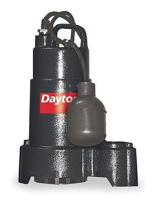 Dayton 3BB68 Pump, Sump, 1/3 HP
