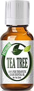 Healing Solutions Tea Tree 100% Pure Best Therapeutic Grade Essential Oil, 30 ml