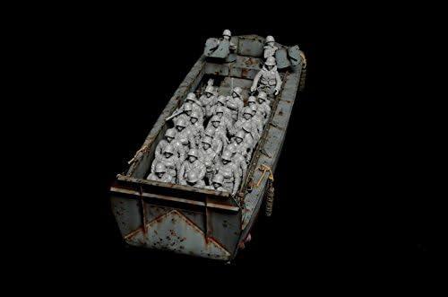 1:32 BMC WW2 Higgins bateau péniche de débarquement